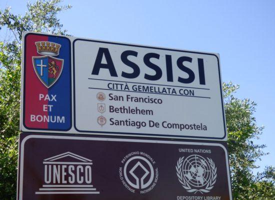 Reportage fotografico arrivo ad Assisi 22 Maggio 16° giorno