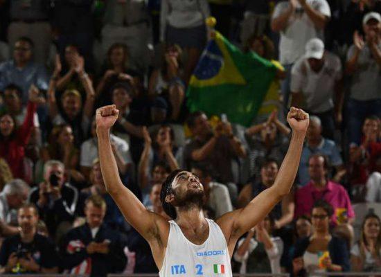 Lupo:grande nella vita e nello sport.Rio 2016