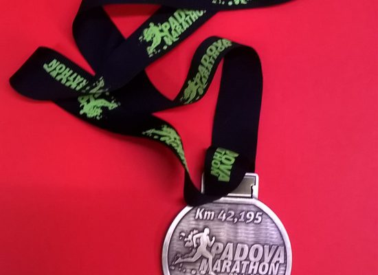 Finita la maratona di Padova 2017